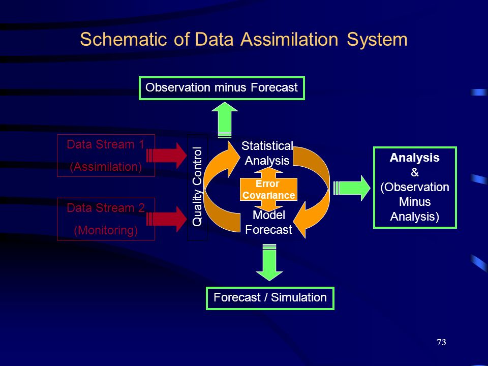 Schematic of Data Assimilation System