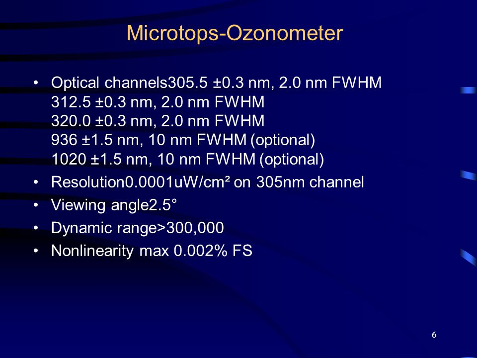 Microtops-Ozonometer