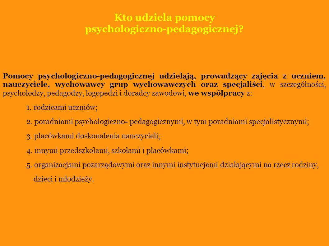 psychologiczno-pedagogicznej