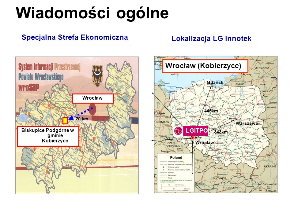 Wiadomości ogólne Specjalna Strefa Ekonomiczna Lokalizacja LG Innotek