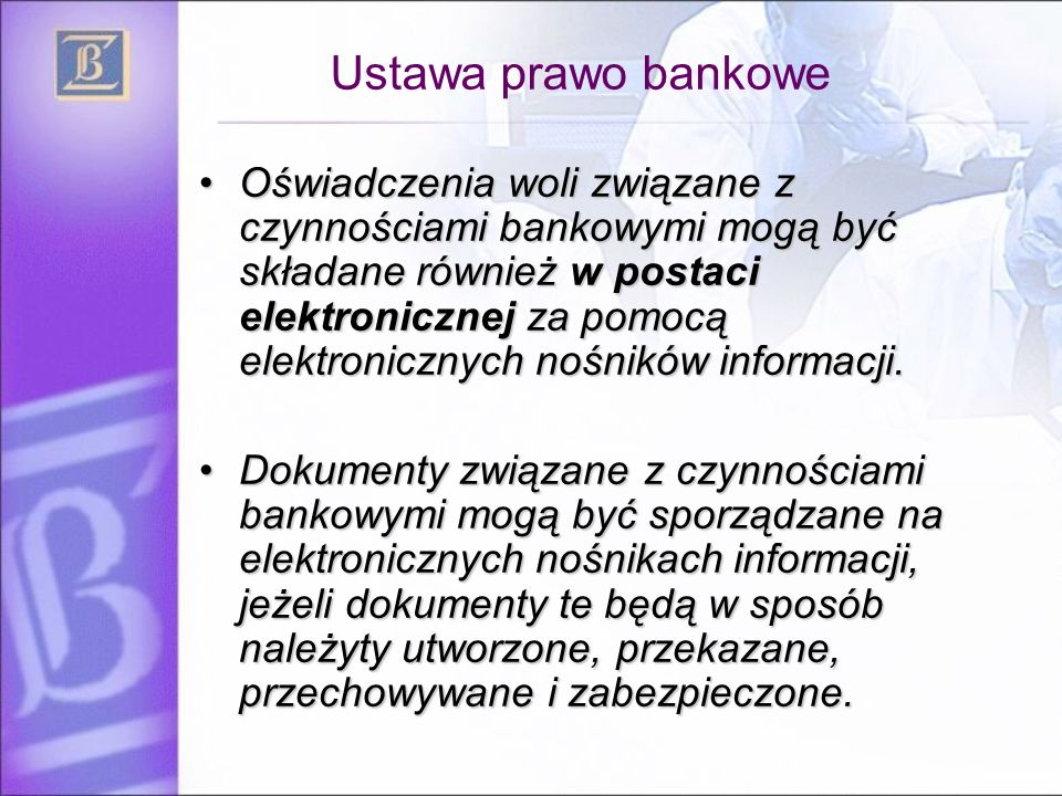 Ustawa prawo bankowe