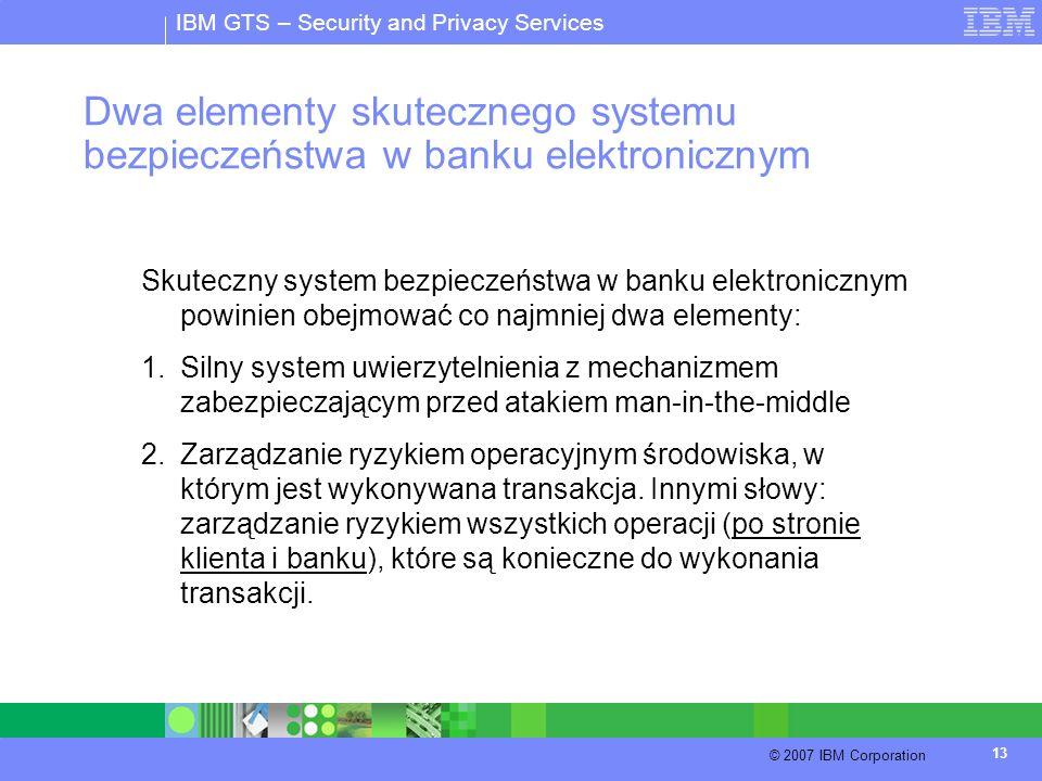 Dwa elementy skutecznego systemu bezpieczeństwa w banku elektronicznym