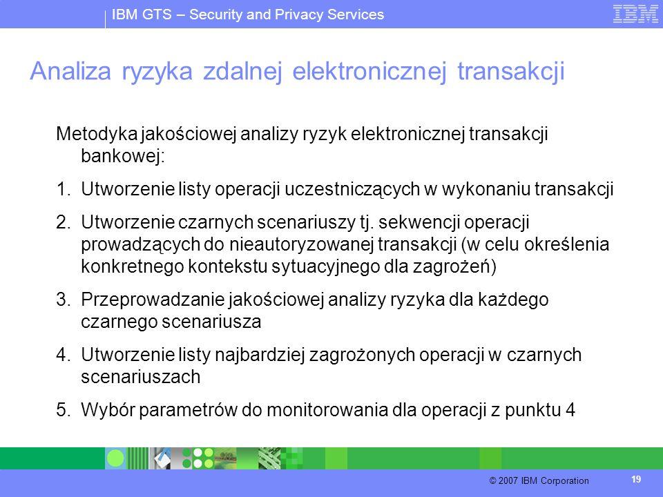 Analiza ryzyka zdalnej elektronicznej transakcji
