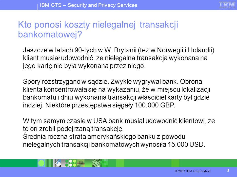 Kto ponosi koszty nielegalnej transakcji bankomatowej