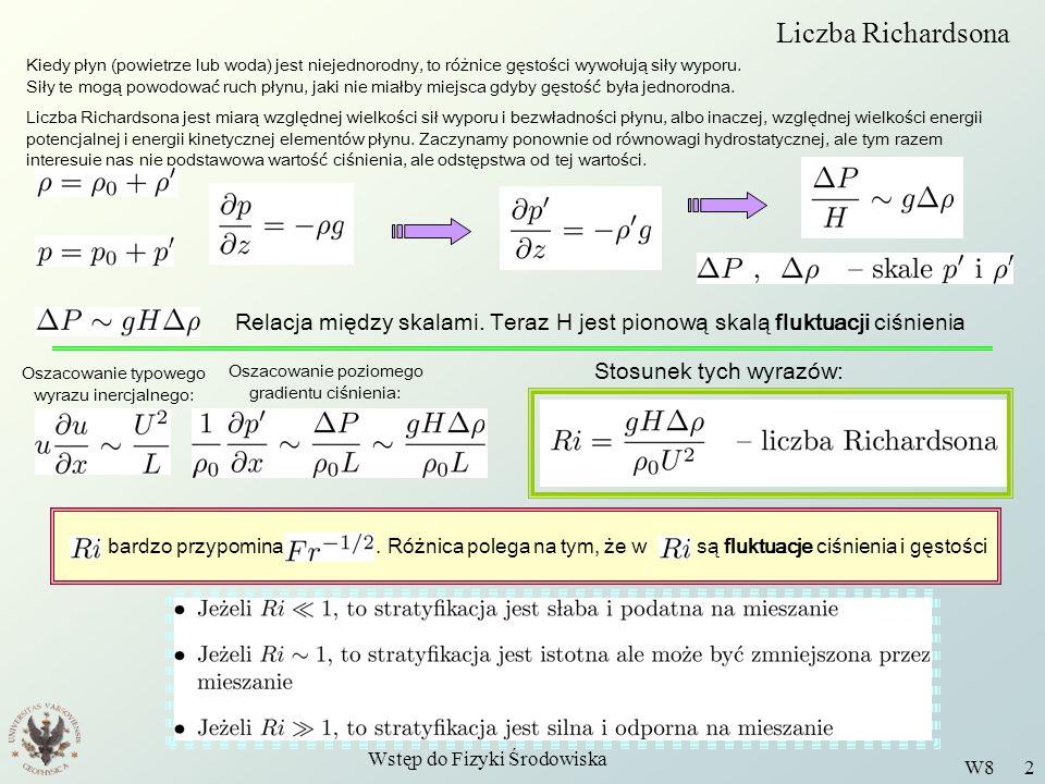 Liczba Richardsona