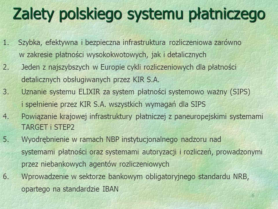 Zalety polskiego systemu płatniczego