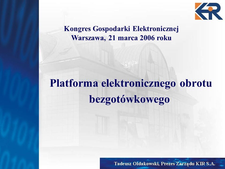 Platforma elektronicznego obrotu bezgotówkowego