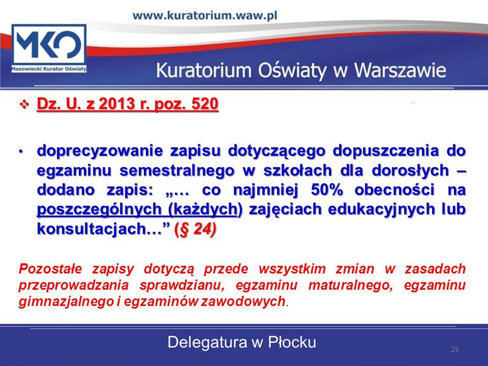 Dz. U. z 2013 r. poz. 520