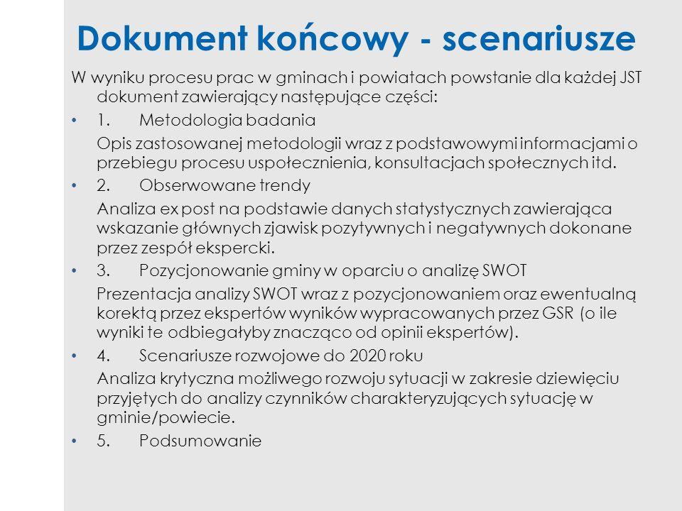 Dokument końcowy - scenariusze