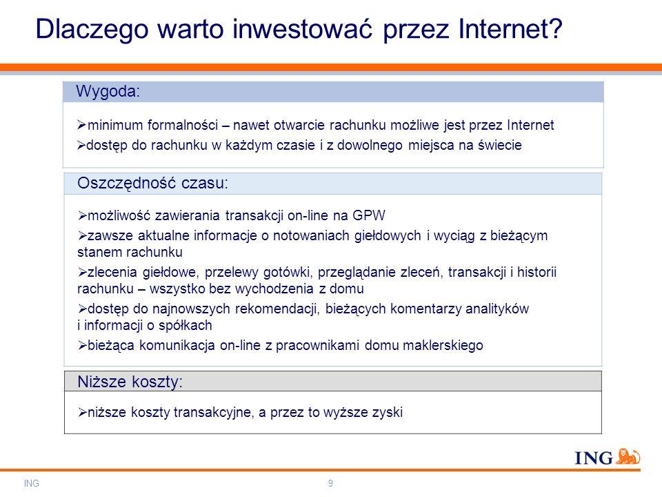 Dlaczego warto inwestować przez Internet