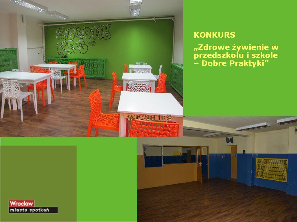 """KONKURS """"Zdrowe żywienie w przedszkolu i szkole – Dobre Praktyki"""