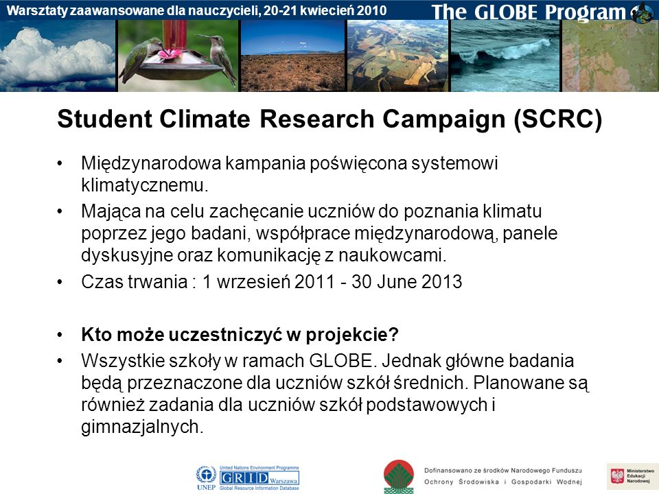 Student Climate Research Campaign (SCRC)