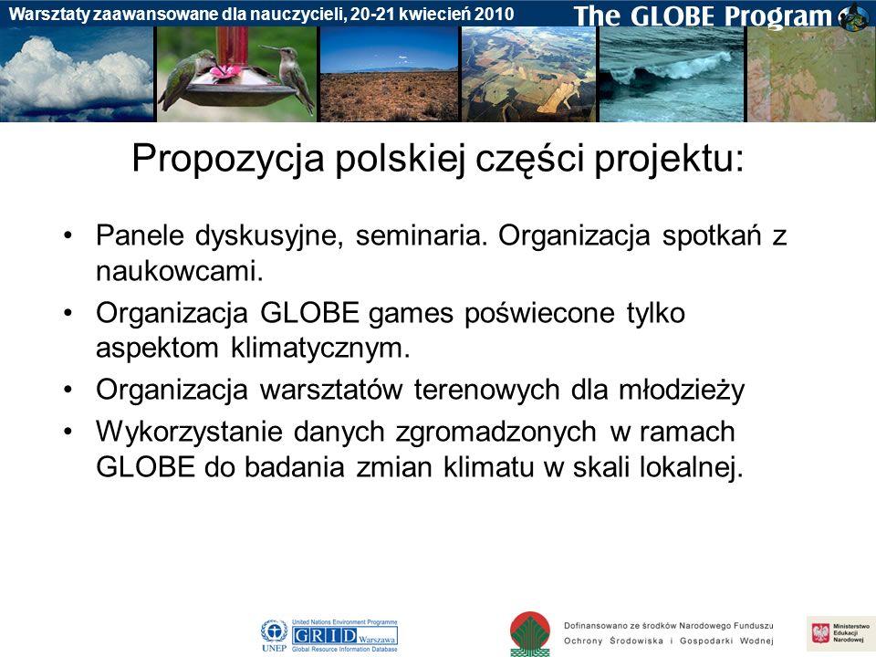 Propozycja polskiej części projektu:
