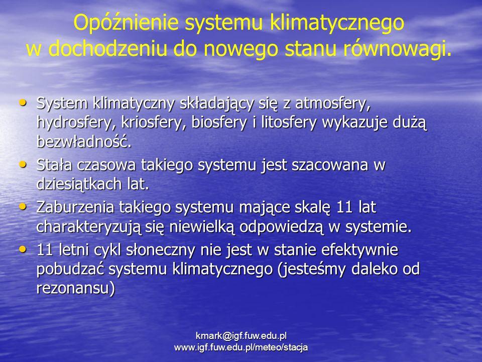 Opóźnienie systemu klimatycznego
