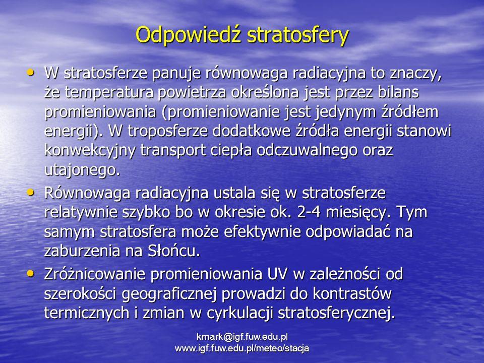 Odpowiedź stratosfery