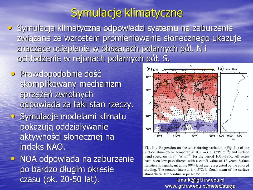 Symulacje klimatyczne