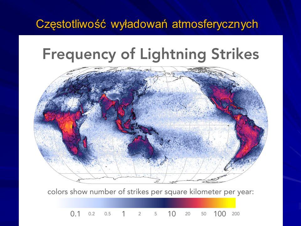 Częstotliwość wyładowań atmosferycznych