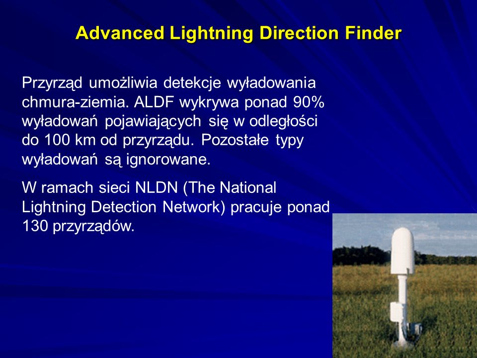 Advanced Lightning Direction Finder