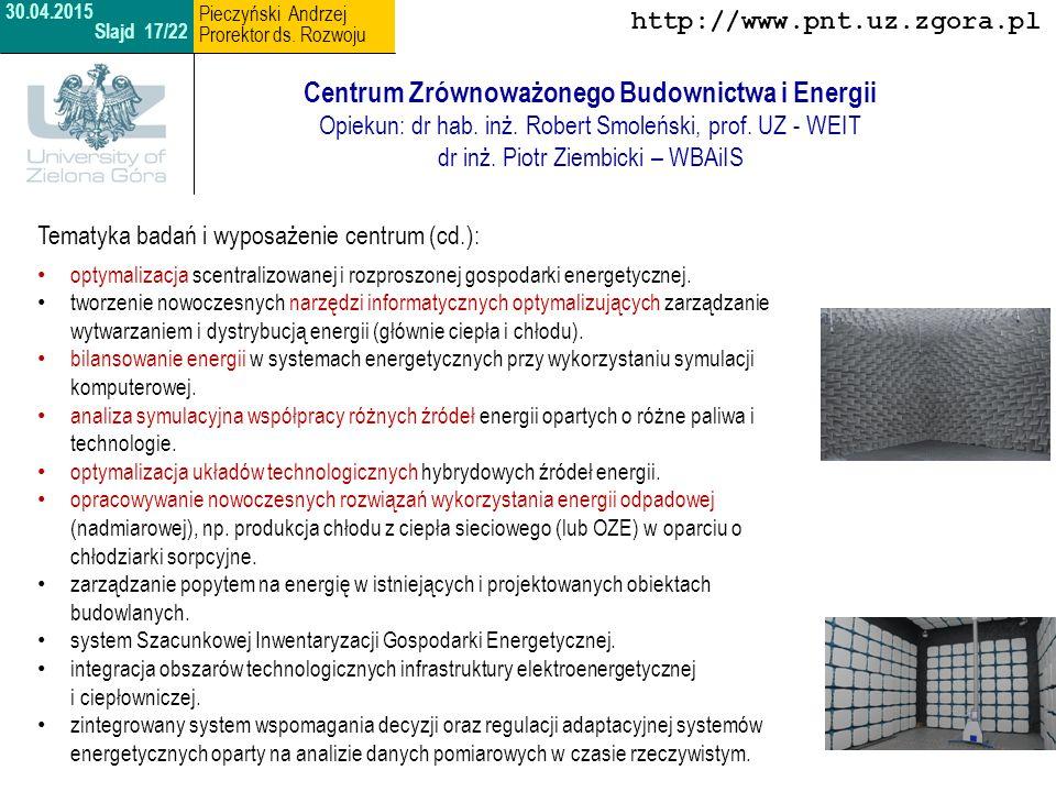 Centrum Zrównoważonego Budownictwa i Energii