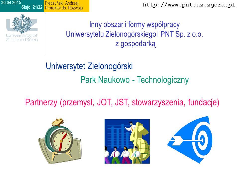 Uniwersytet Zielonogórski Park Naukowo - Technologiczny