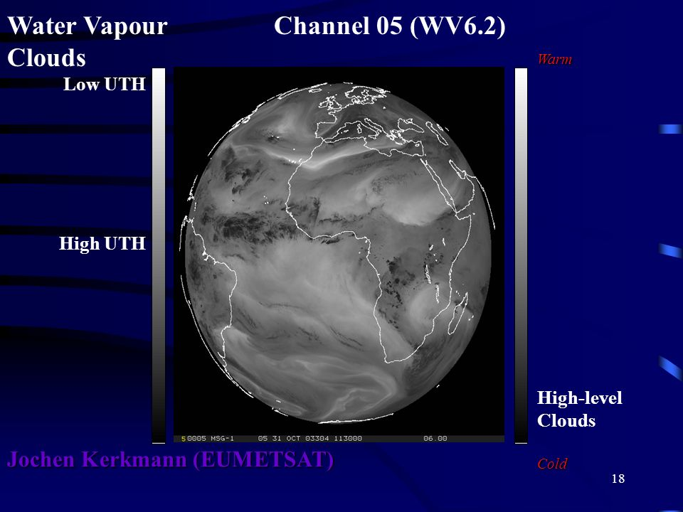 Water Vapour Channel 05 (WV6.2) Clouds