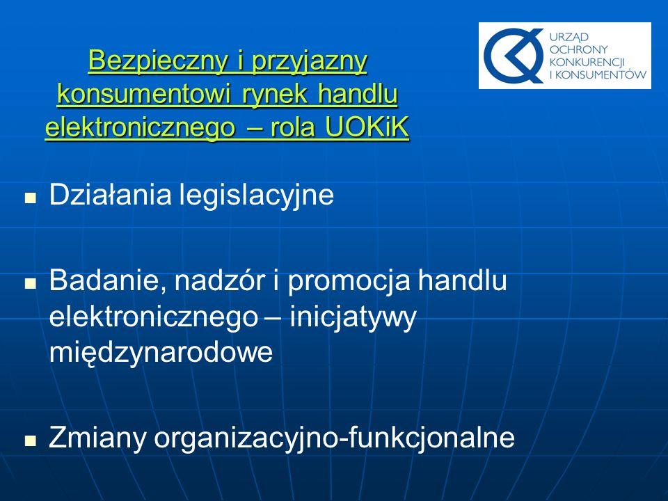 Działania legislacyjne