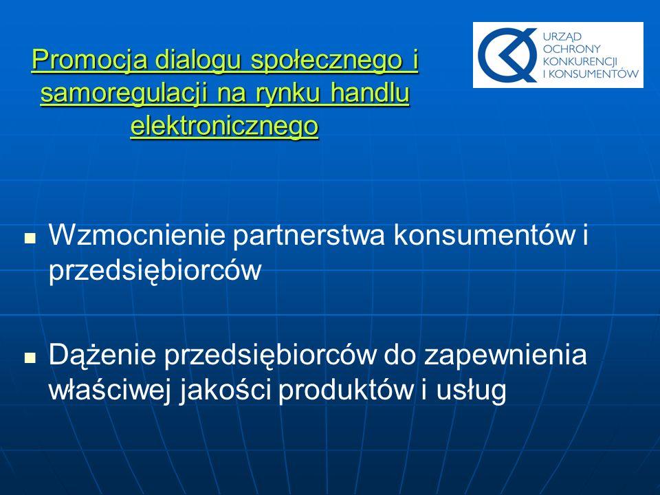 Wzmocnienie partnerstwa konsumentów i przedsiębiorców