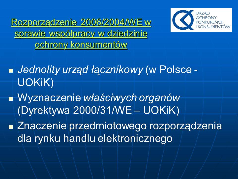 Jednolity urząd łącznikowy (w Polsce - UOKiK)