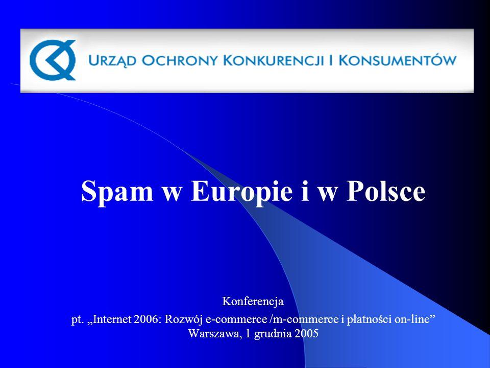 Spam w Europie i w Polsce