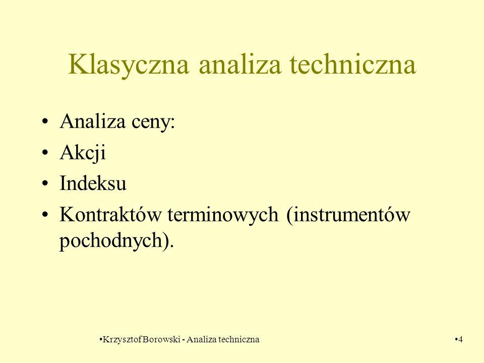 Klasyczna analiza techniczna