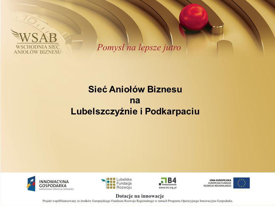 Sieć Aniołów Biznesu na Lubelszczyźnie i Podkarpaciu