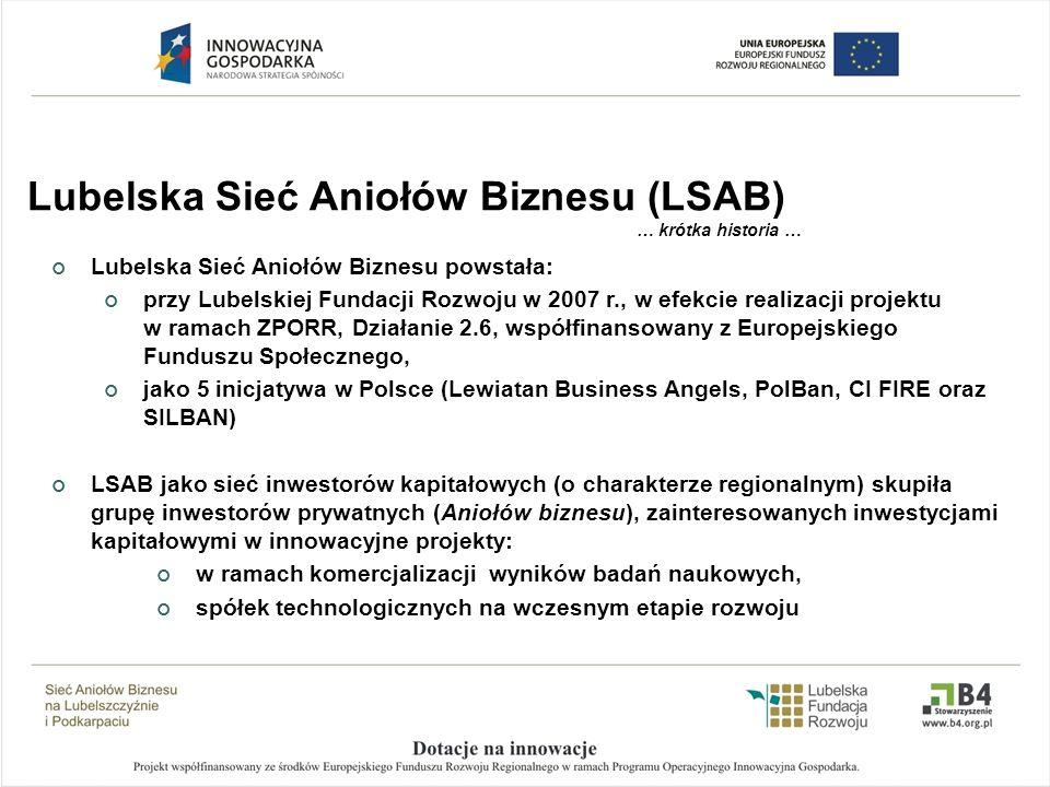 Lubelska Sieć Aniołów Biznesu (LSAB)