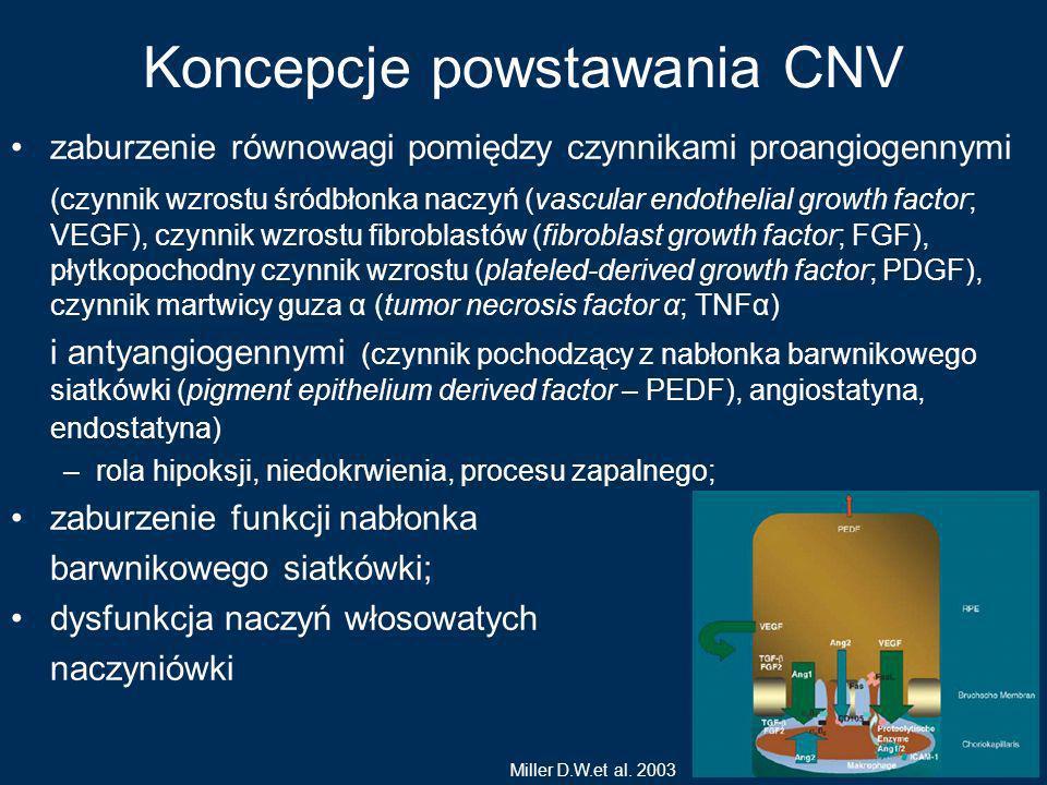 Koncepcje powstawania CNV