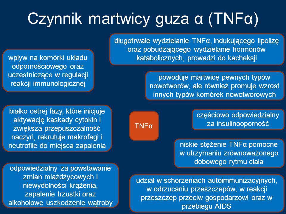 Czynnik martwicy guza α (TNFα)