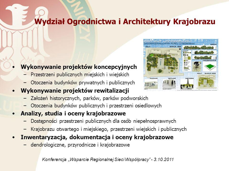 Wydział Ogrodnictwa i Architektury Krajobrazu