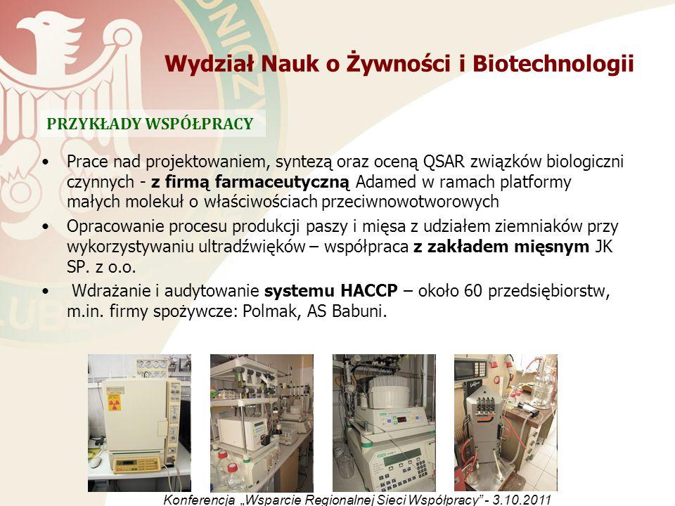 Wydział Nauk o Żywności i Biotechnologii