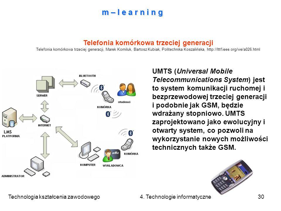 Telefonia komórkowa trzeciej generacji