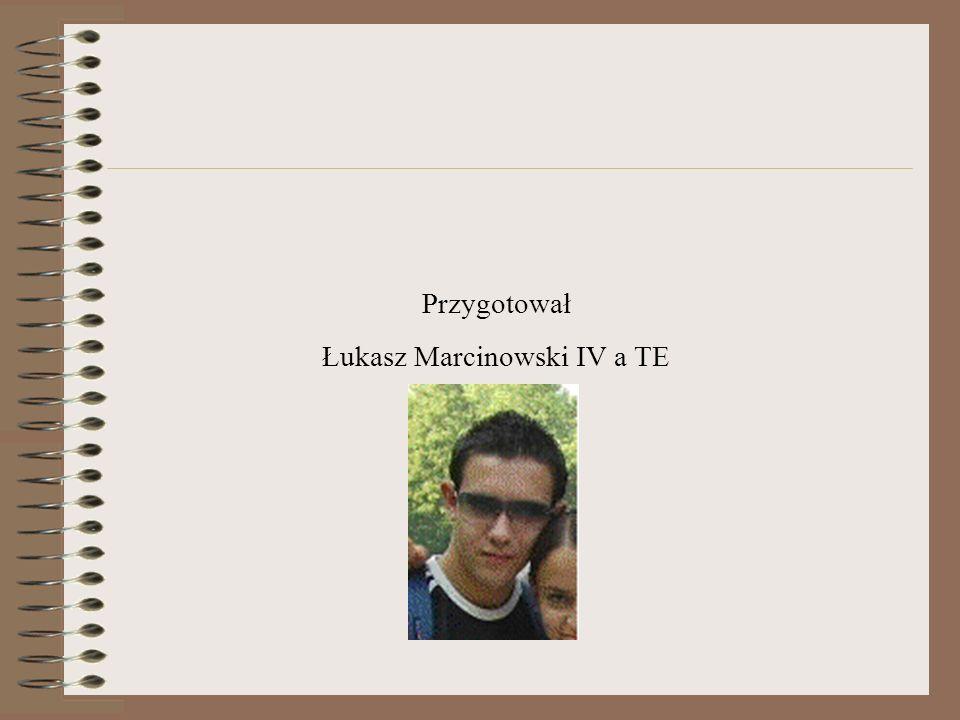 Łukasz Marcinowski IV a TE