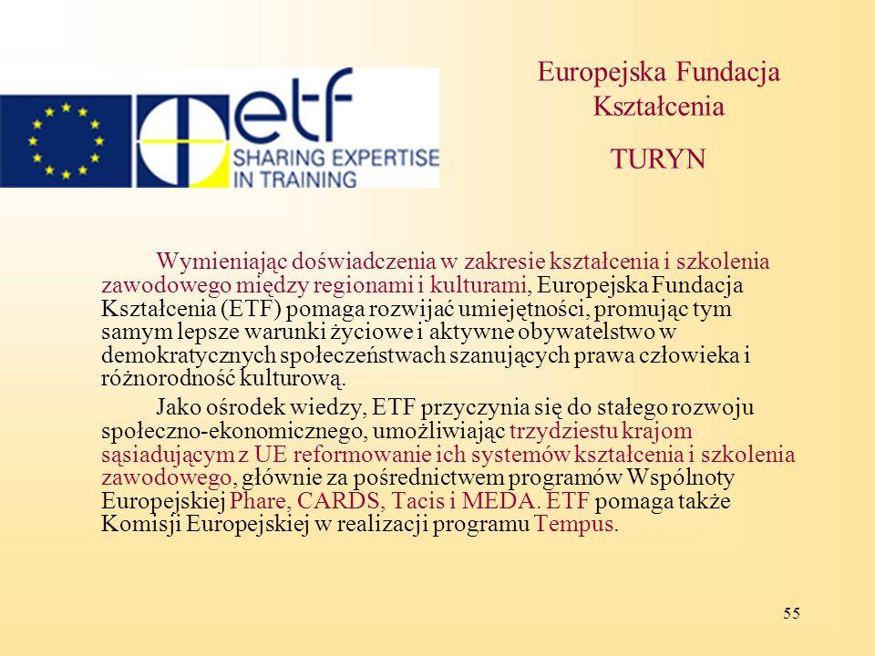 Europejska Fundacja Kształcenia