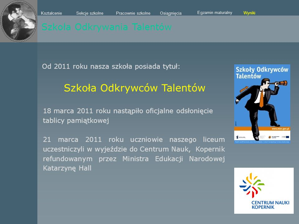 Szkoła Odkrywców Talentów
