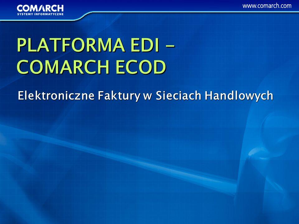 PLATFORMA EDI - COMARCH ECOD
