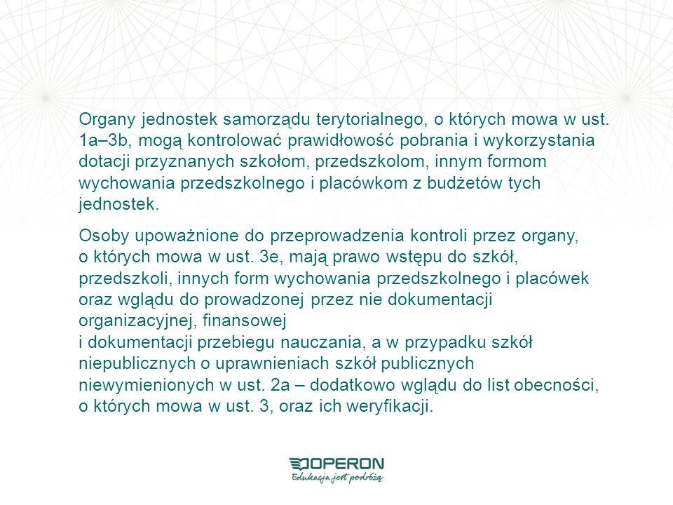 Organy jednostek samorządu terytorialnego, o których mowa w ust