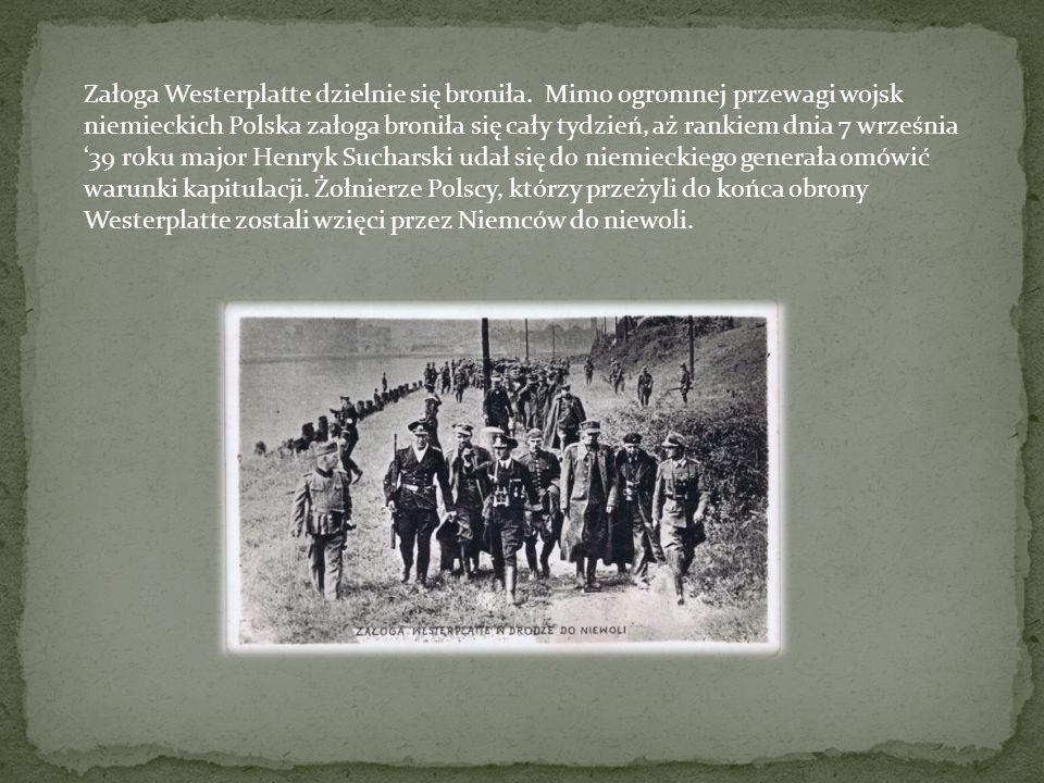 Załoga Westerplatte dzielnie się broniła