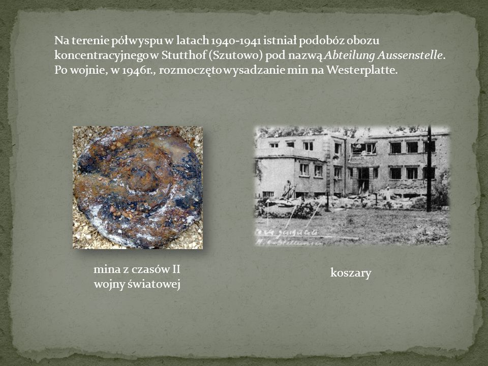 mina z czasów II wojny światowej