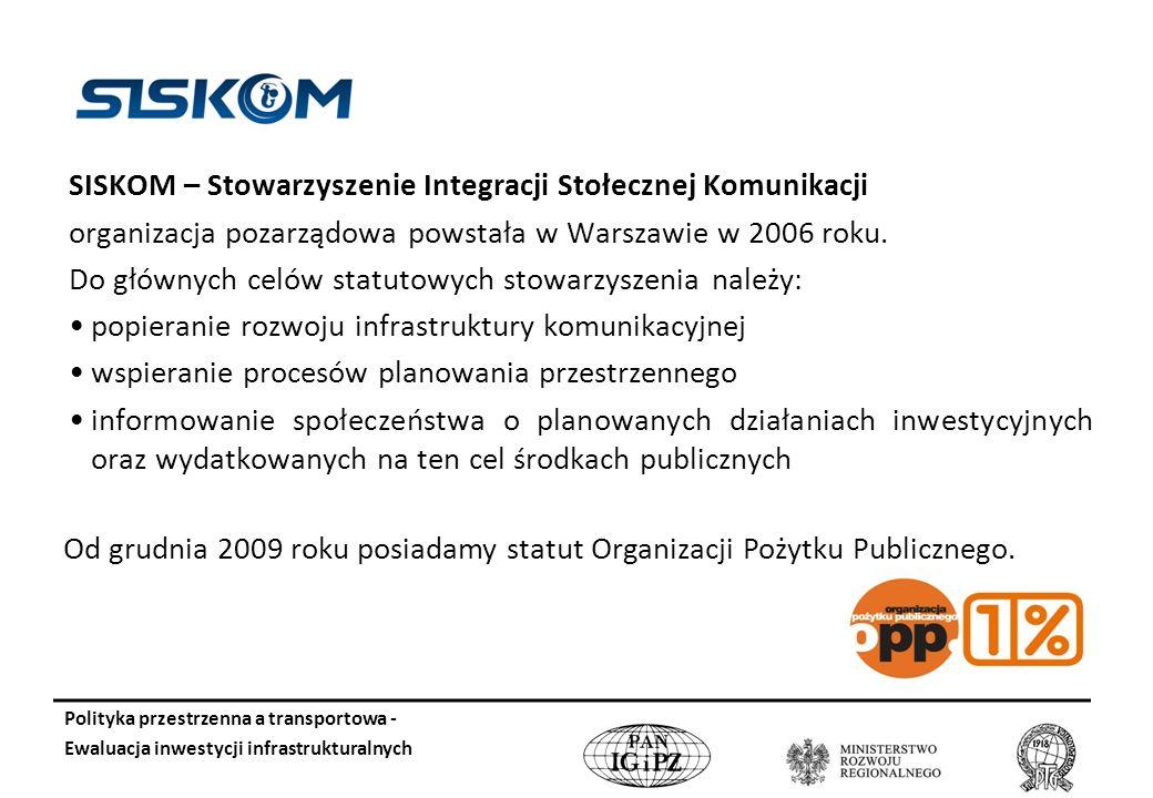 SISKOM – Stowarzyszenie Integracji Stołecznej Komunikacji
