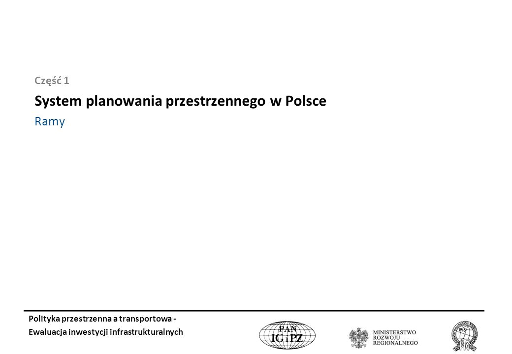 System planowania przestrzennego w Polsce