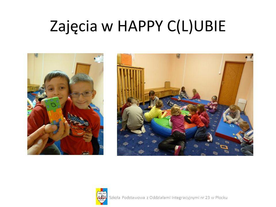 Zajęcia w HAPPY C(L)UBIE