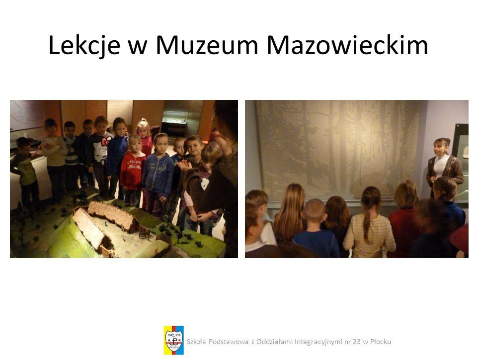Lekcje w Muzeum Mazowieckim
