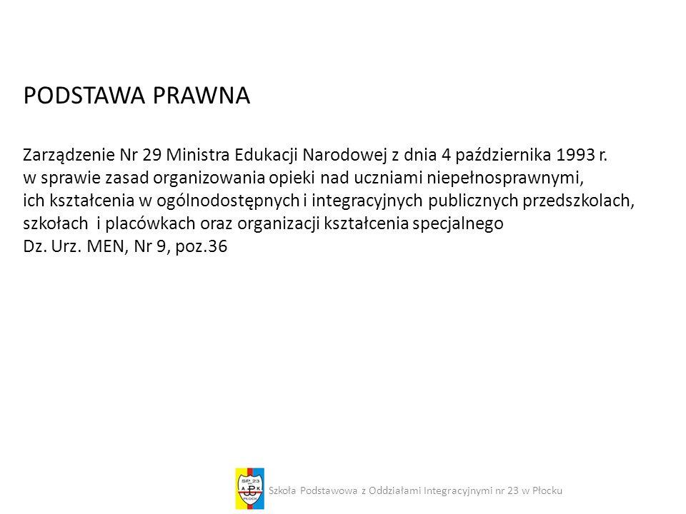 Szkoła Podstawowa z Oddziałami Integracyjnymi nr 23 w Płocku