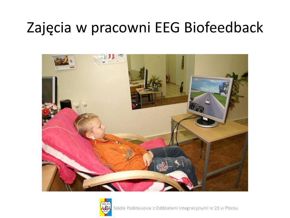 Zajęcia w pracowni EEG Biofeedback